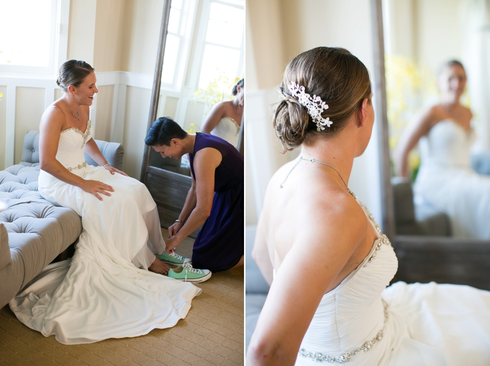 Two Brides Wedding Photographs - The Bridal Boutique