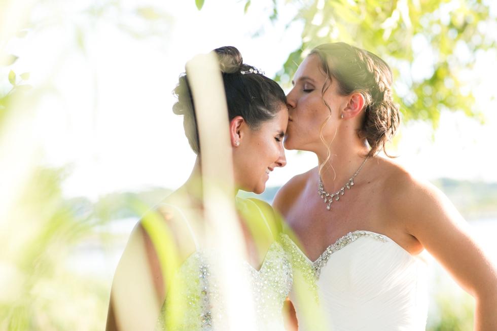 Two Brides Beach Wedding - Philadelphia LGBT Wedding Photographer