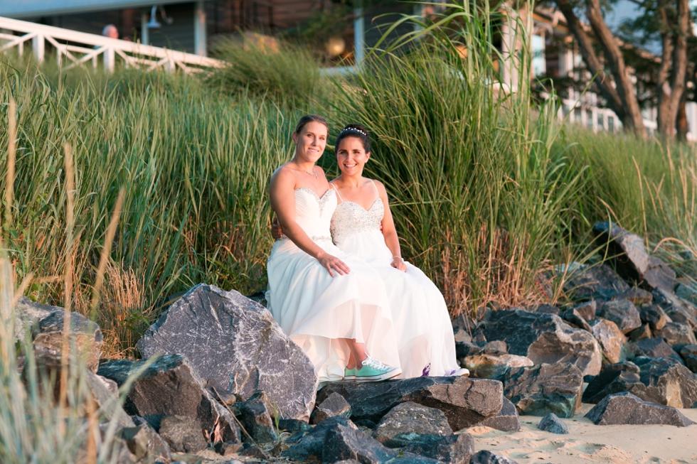 Chesapeake Bay Beach Club Wedding Photographer