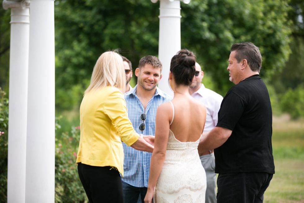Pen Ryn Mansion Philadelphia wedding Rehearsal