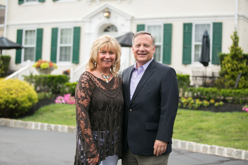 Philadelphia Father and Mother of the groom at Pen Ryn Estate