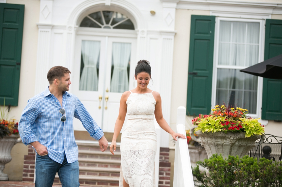 Bucks County Wedding rehearsal at Pen Ryn Mansion