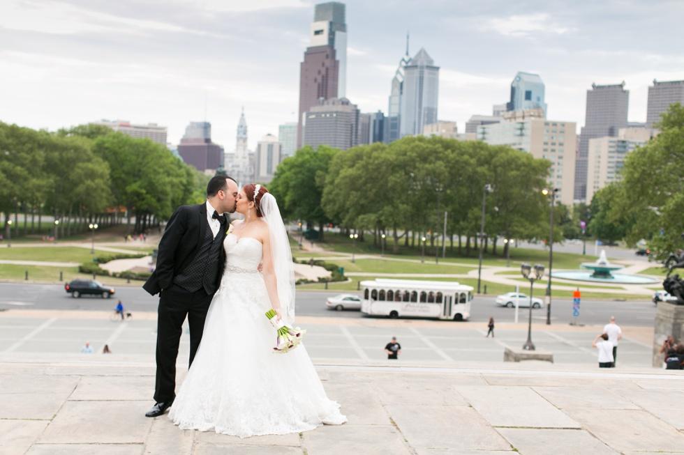 Philly Skyline Wedding Photographer