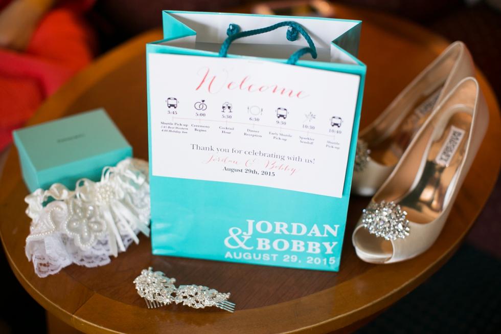 Eastern Shore welcome wedding gift