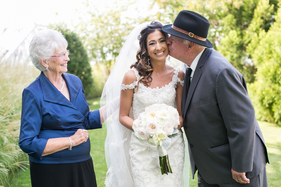 Eastern Shore Wedding Florals - Grandparents - Vera Wang Tux