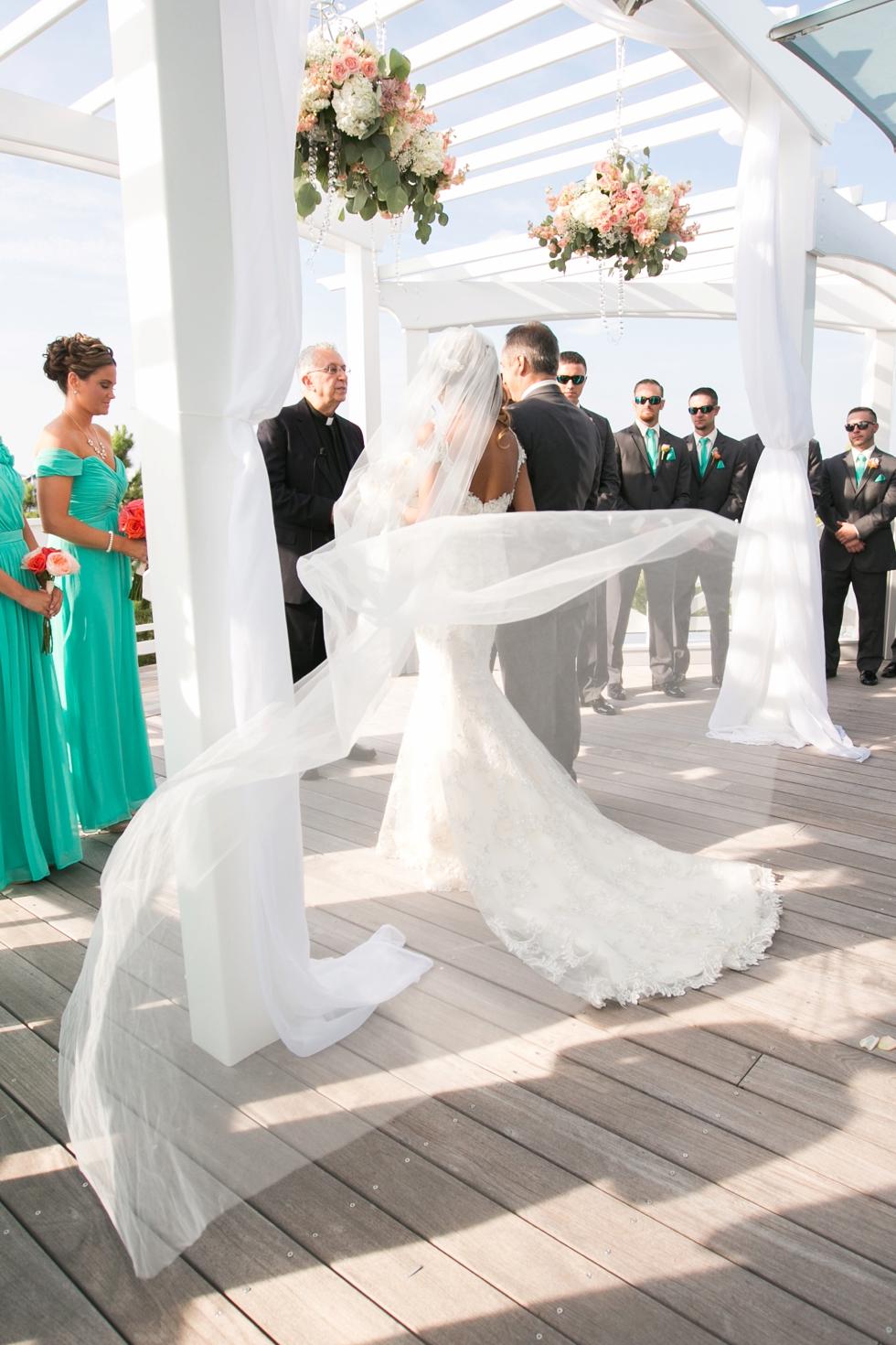 Chesapeake Bay Beach Club Rooftop Ceremony