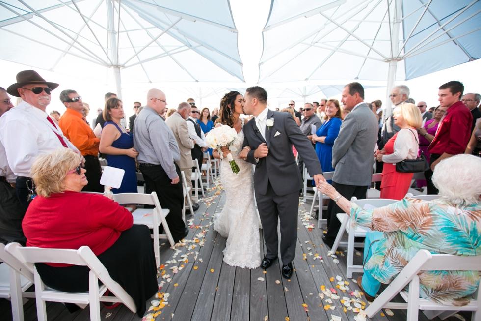 Chesapeake Bay Beach Club Outdoor Ceremony