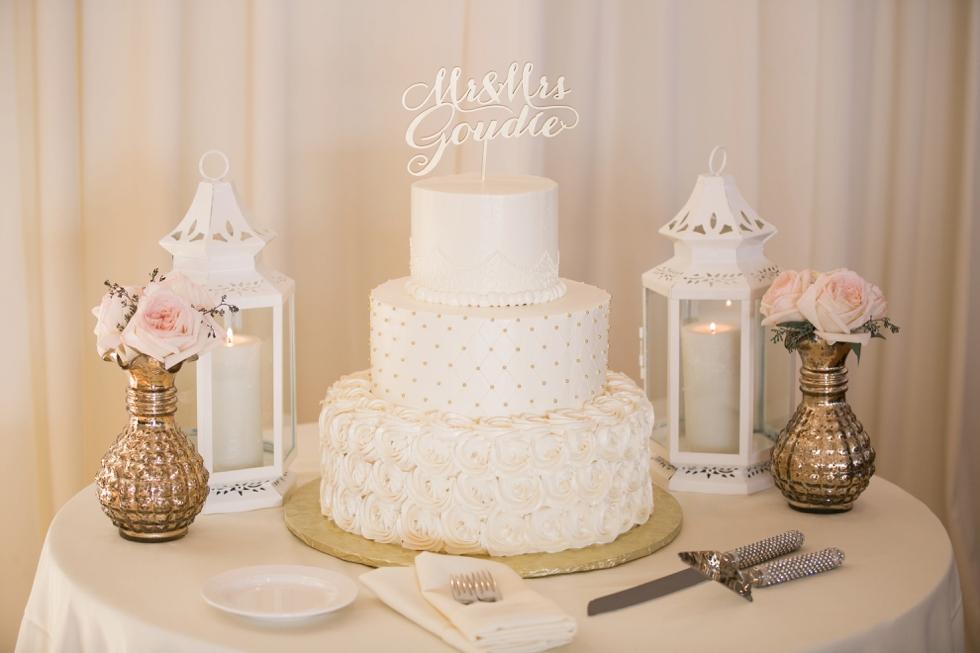Beach Wedding Cake - Peace of Cake