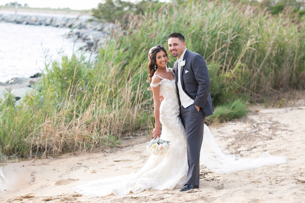 Beach Wedding Photographs - Sottero and Midgley