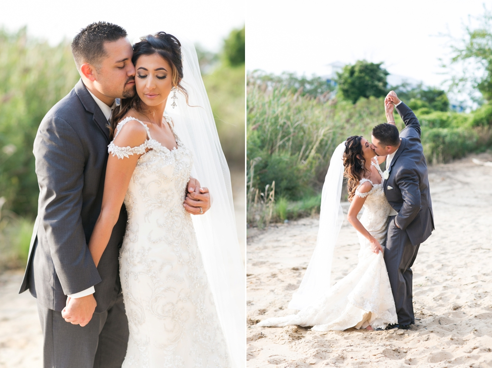 Shore Wedding Photographs - Chesapeake Bay Beach Club