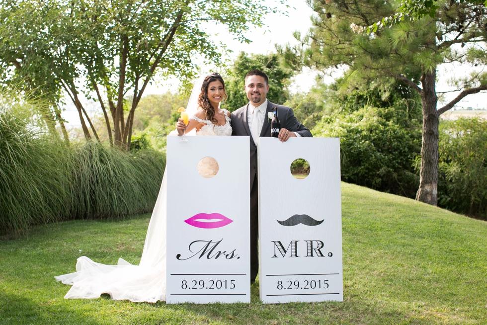 Shore Wedding Reception - My flower box events design