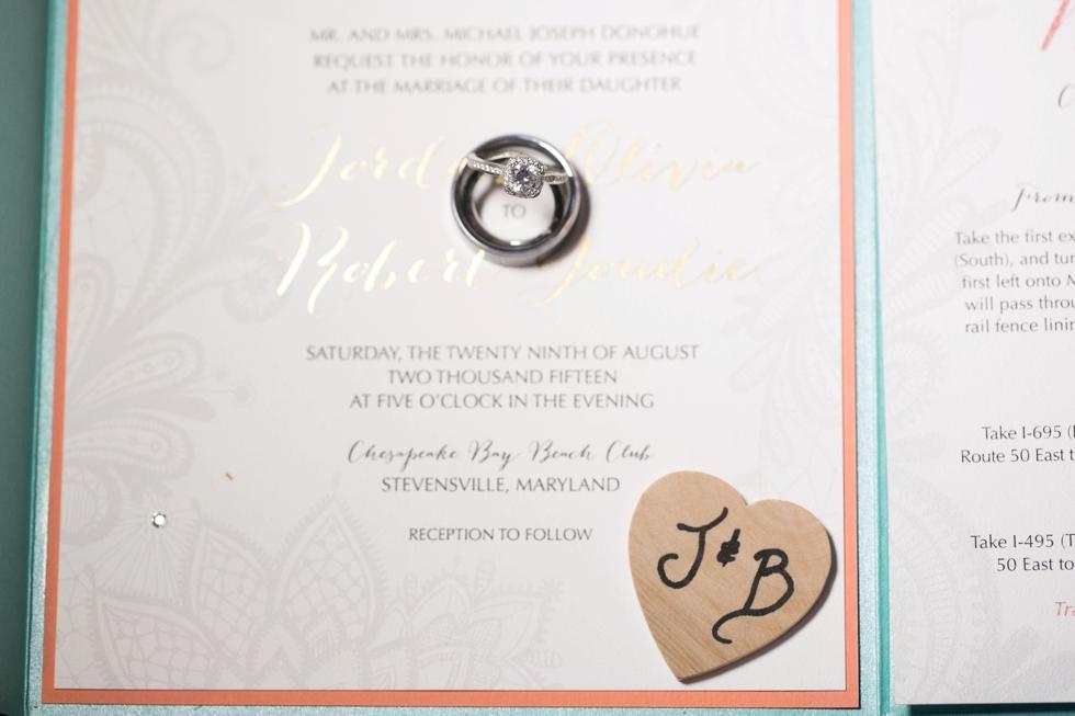 Shore Wedding Reception - Tacori Wedding Rings