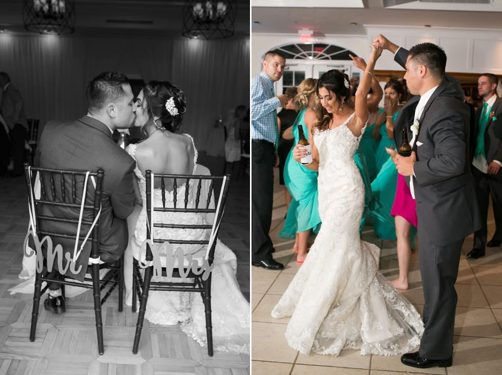 Chesapeake Bay wedding Reception