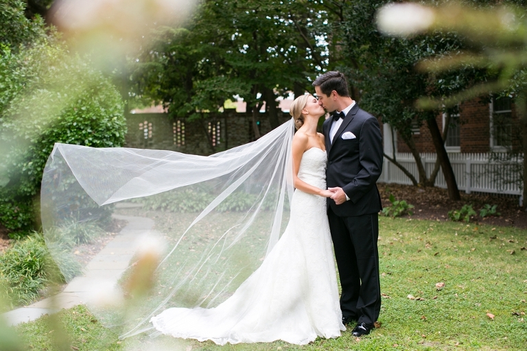 First Look - Elegant Wedding Photographs in Maryland