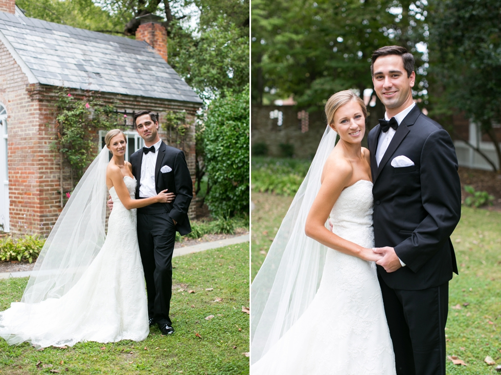 First Look - Elegant Wedding Photographs in Maryland
