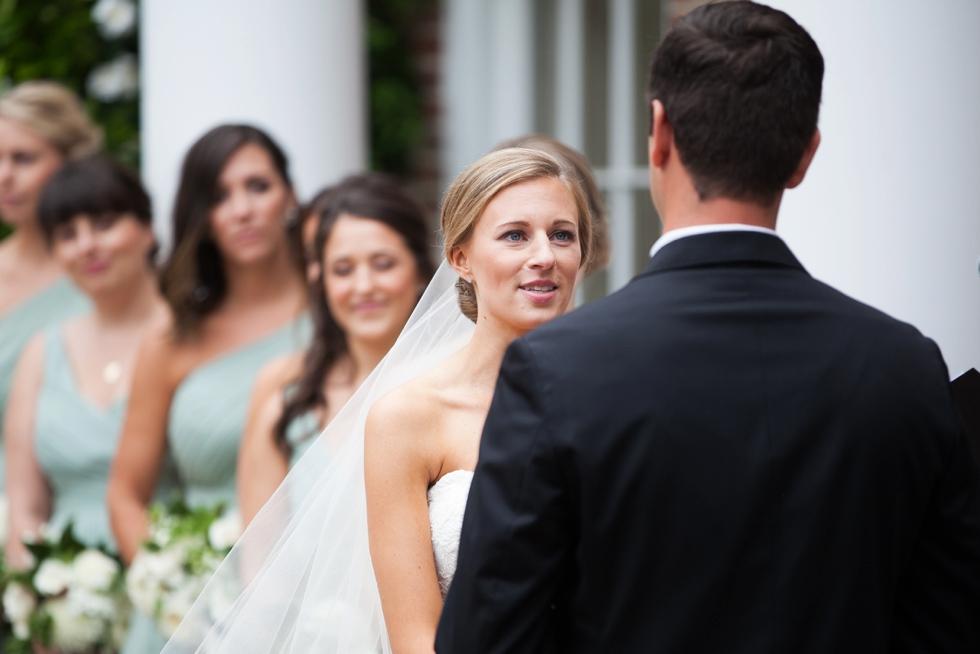 Tidewater Inn Outdoor Wedding Ceremony Photographs
