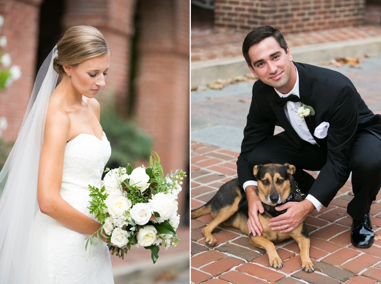 Tidewater Inn Wedding - Ceremony with Dogs