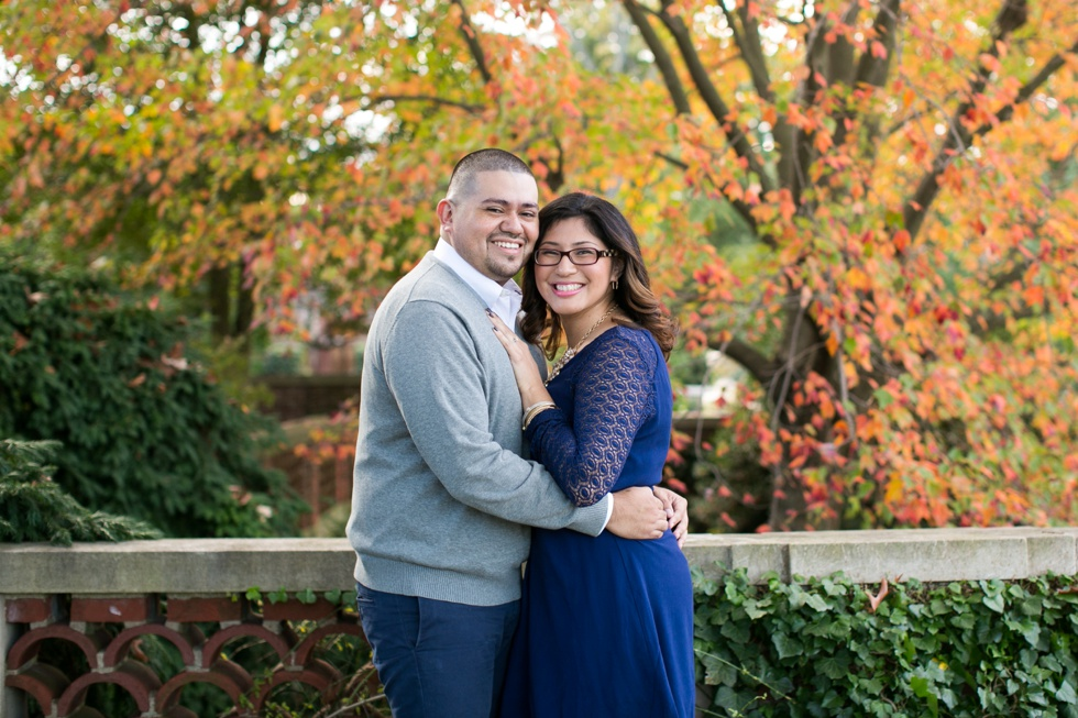 Fall Georgetown DC Engagement session