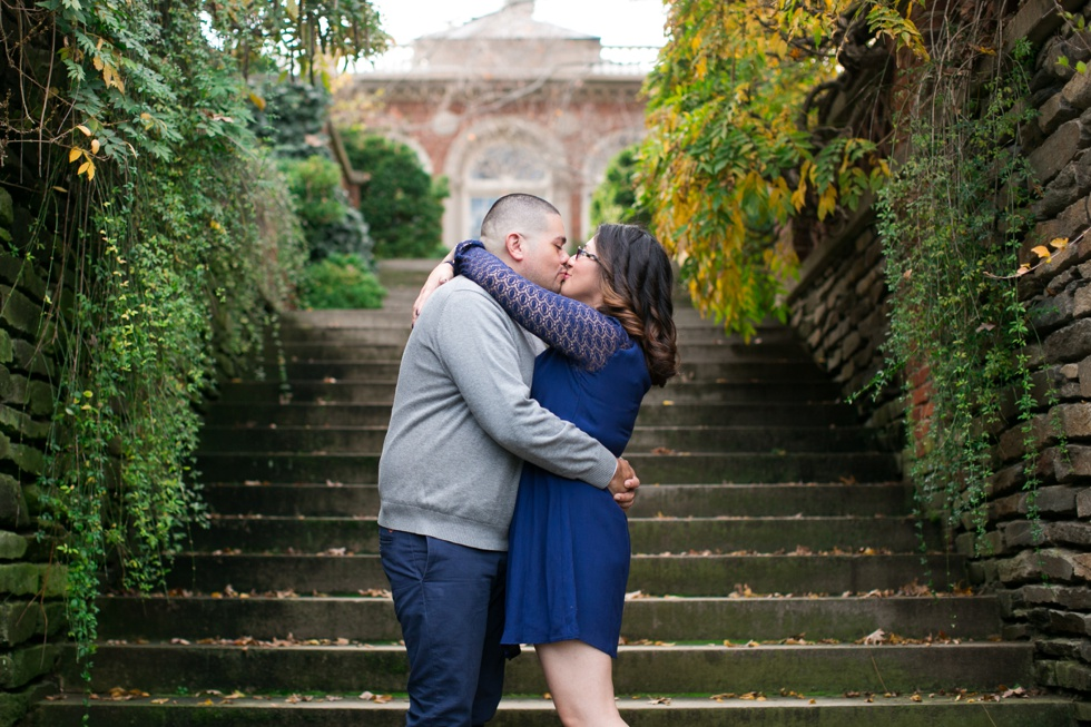 Fall Engagement session in Georgetown DC