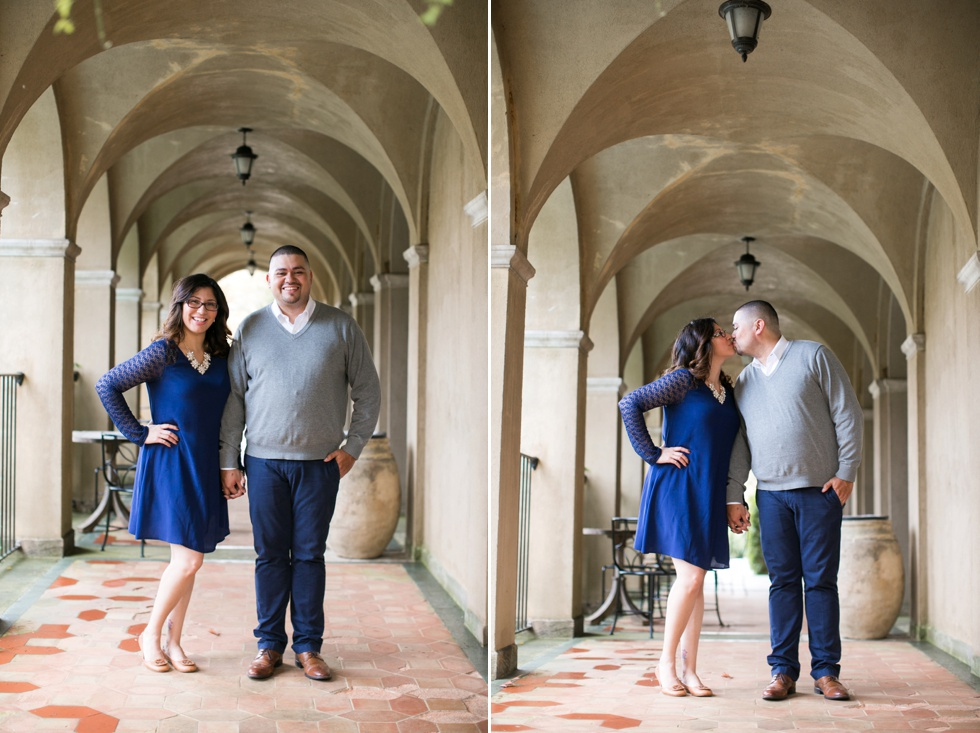 Dumbarton House Engagement Photos