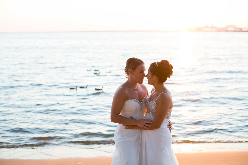 Chesapeake Bay Beach Club wedding - Best LGBT Wedding photographer of 2015