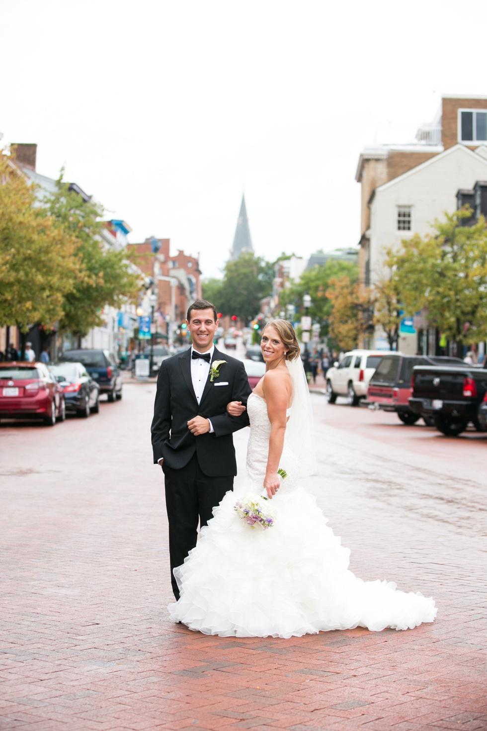 Downtown Annapolis wedding - Best Wedding photographer of 2015