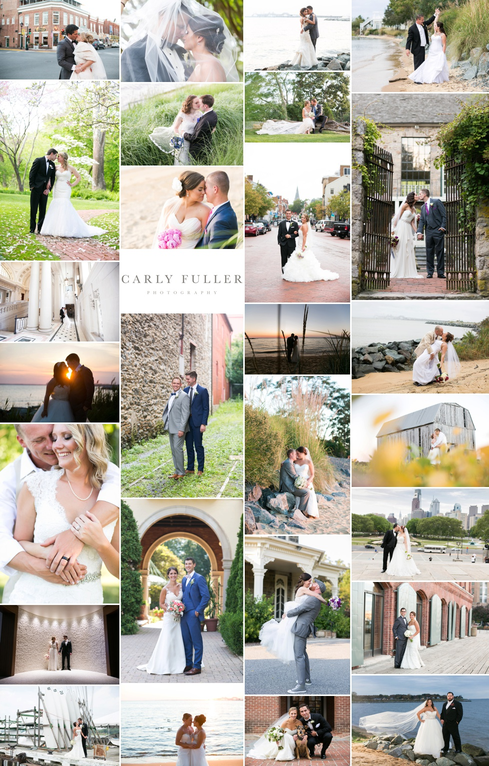 Favorite Wedding photographs of 2015 - Philadelphia wedding photographer