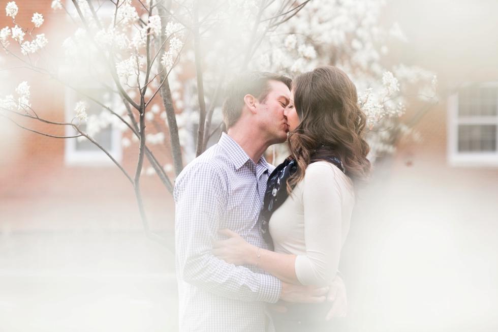 Cherry Blossom Season Engagement - Maryland Engagement Photographers