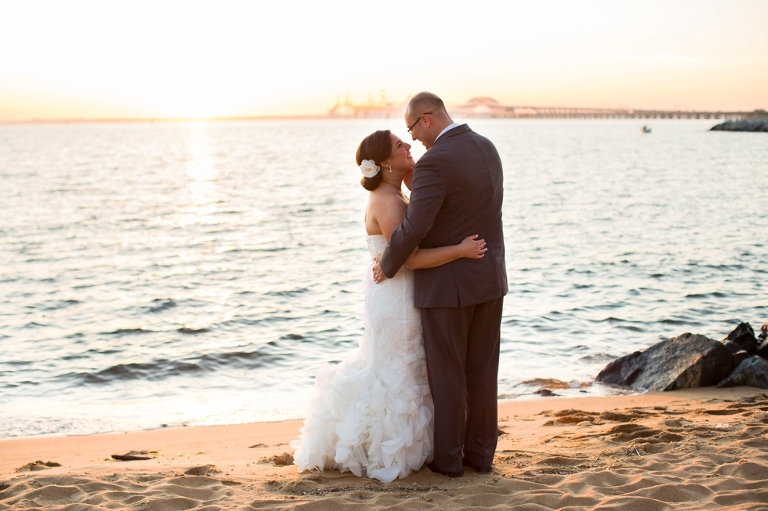 Chesapeake Bay Beach Club Associate Wedding - TLC Bridal Boutique