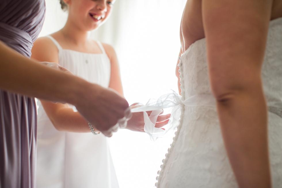 The Inn at the Chesapeake Bay Beach Club Associate Wedding - TLC Bridal Boutique