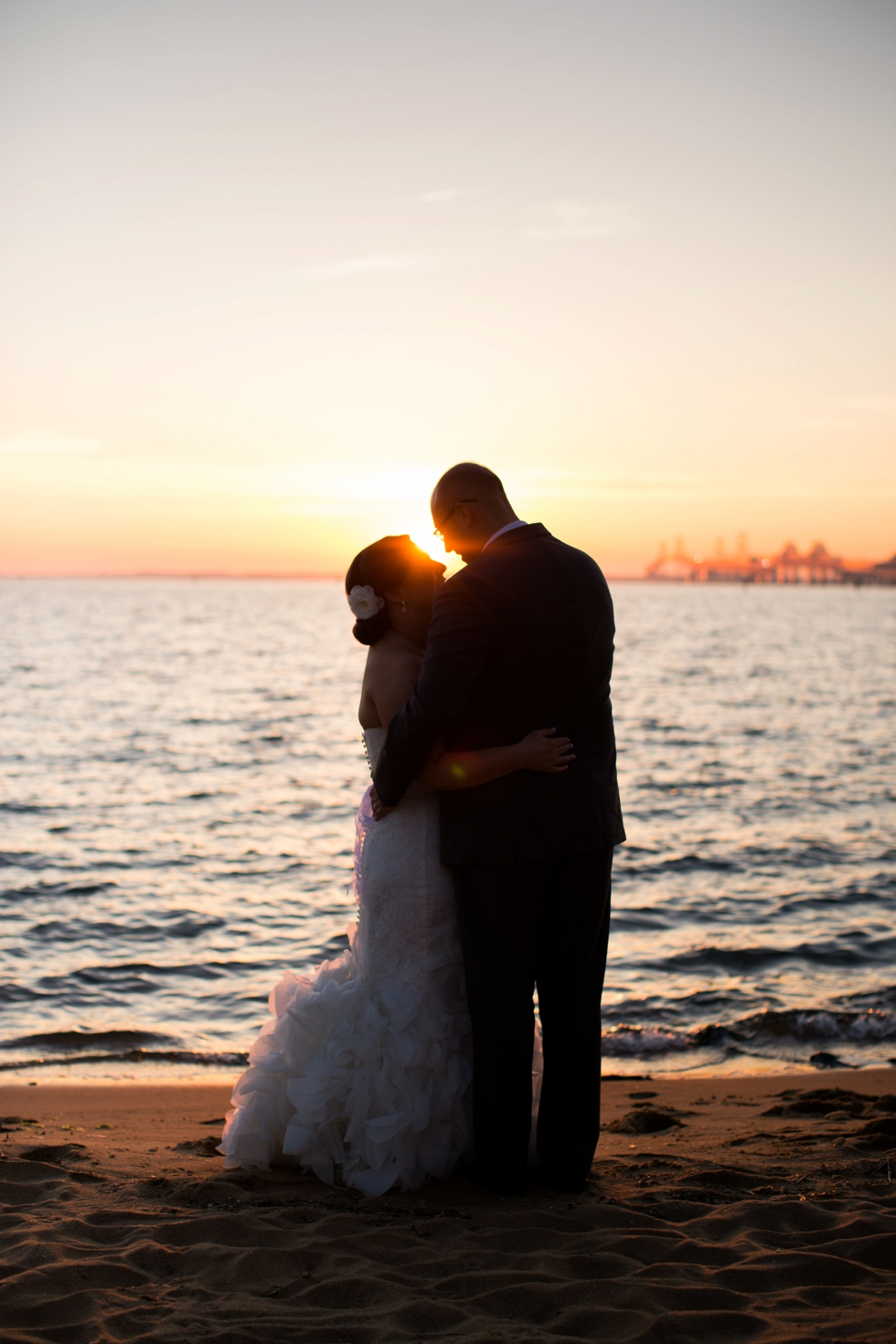 Chesapeake Bay Beach Club Sunset - Associate Eastern Shore Wedding