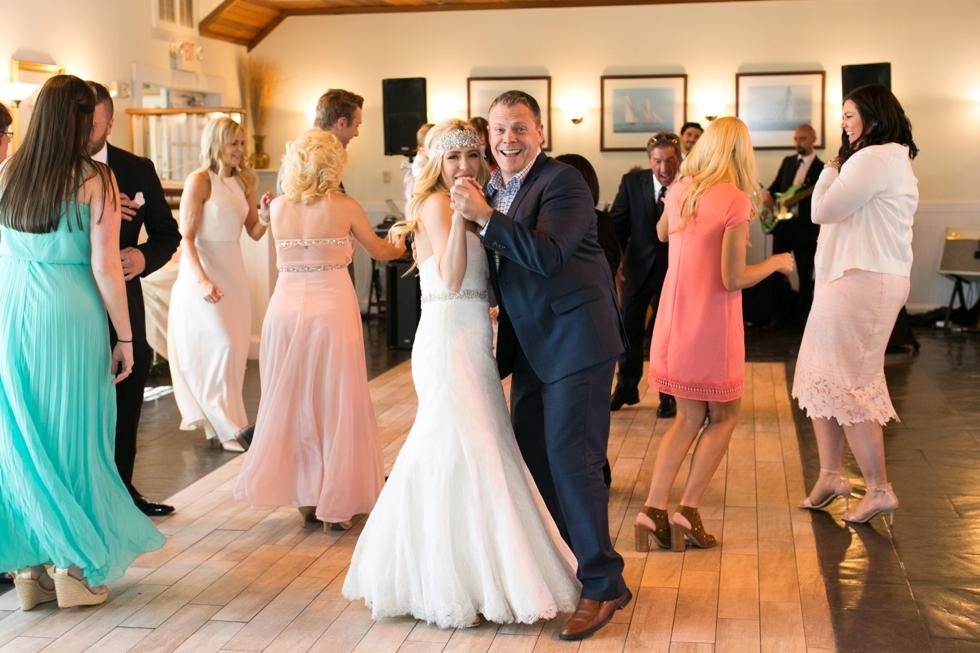 Chesapeake Bay Beach Club Intimate Tavern Ballroom Vow Renewal - Associate Caitlin