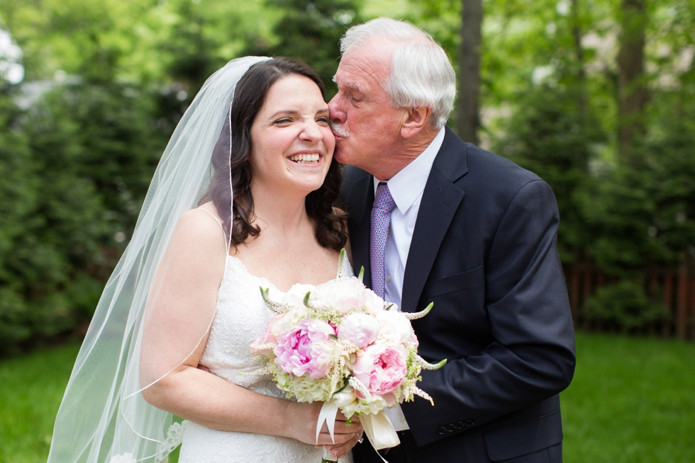 Annapolis Maryland father bride moment - Anne Barge bridal
