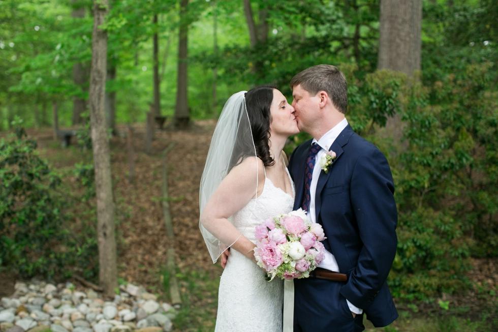 Annapolis Maryland wedding couple photo- Saint Elizabeth Ann Seton church