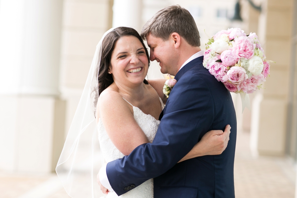Annapolis Westin hotel wedding couple - Philadelphia wedding photographer