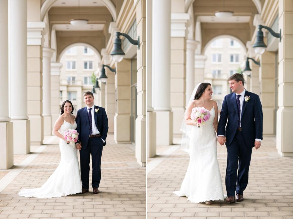Annapolis Westin hotel wedding couple - Philadelphia wedding photo