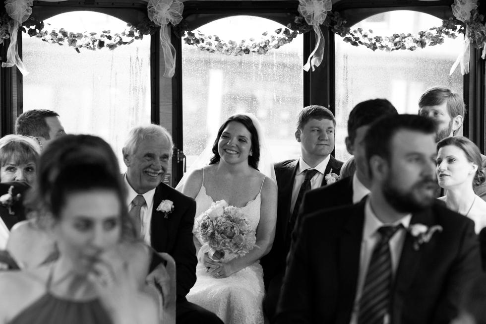 Annapolis Towne Transport Trolley wedding - Wedding Photography in Philadelphia