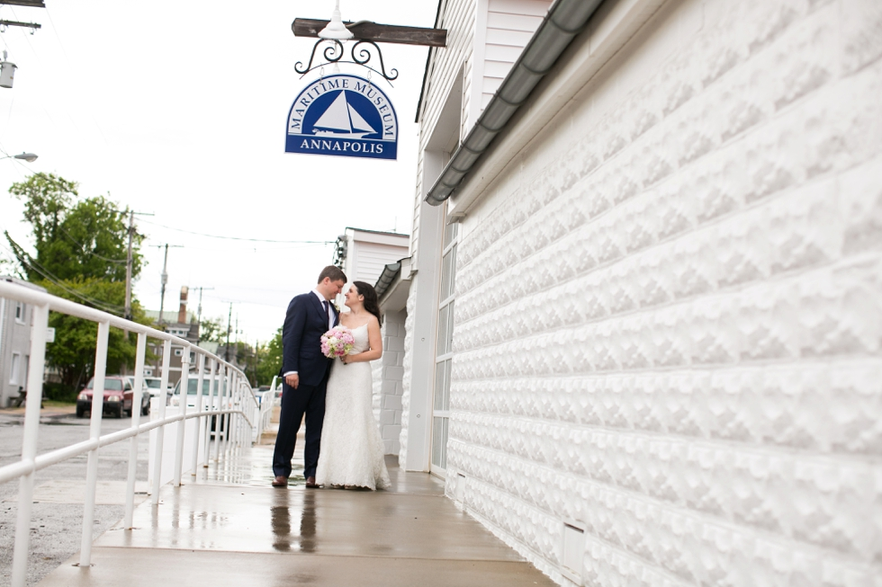 Annapolis Maritime Museum wedding photographs - Sonata by Anne Barge