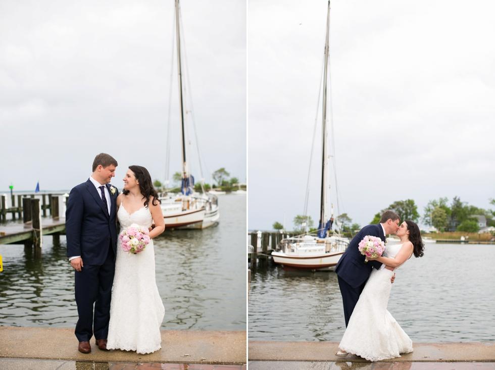 Rainy Annapolis Maritime Museum wedding photographs - Sonata by Anne Barge