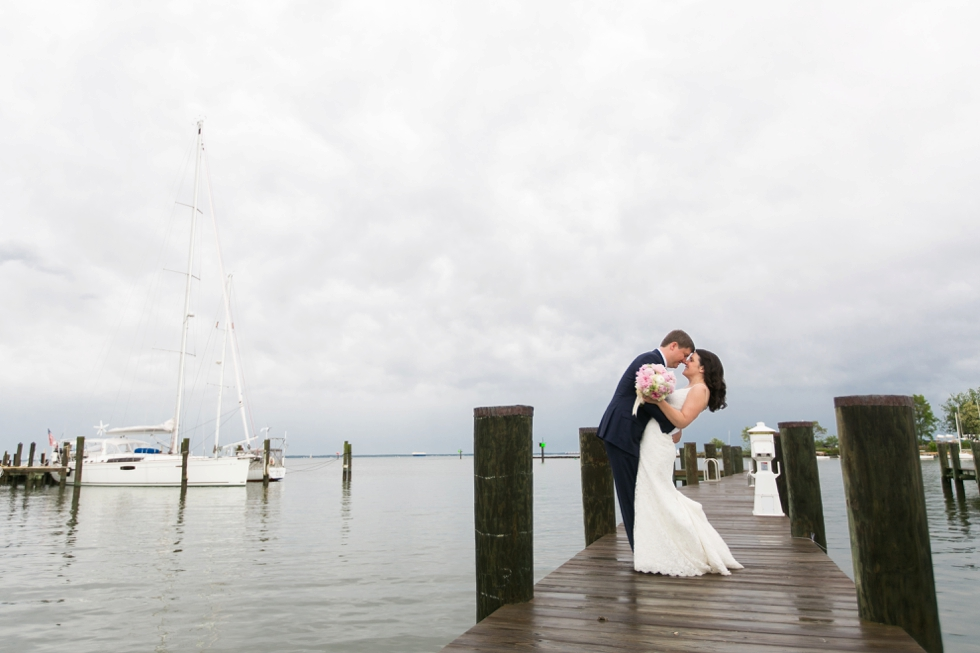 Rainy Annapolis Maritime Museum wedding photographs - Sonata by Anne Barge