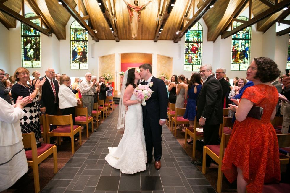Annapolis Maryland wedding - Saint Elizabeth Ann Seton church