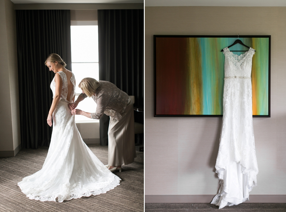 Bridal prep Westin hotel Philadelphia wedding photographer
