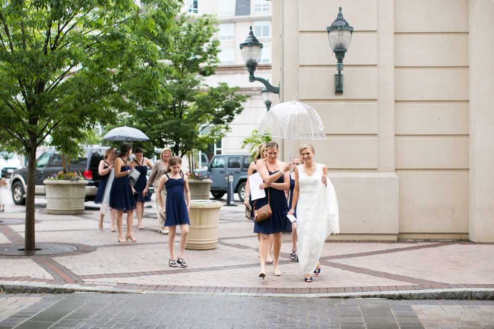 Rainy Beach wedding at Westin hotel Annapolis - Philadelphia wedding photographer