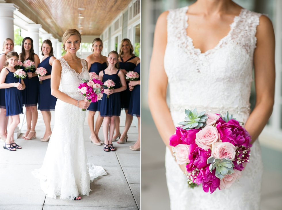 bridesmaids Beach wedding - Philadelphia wedding photographer
