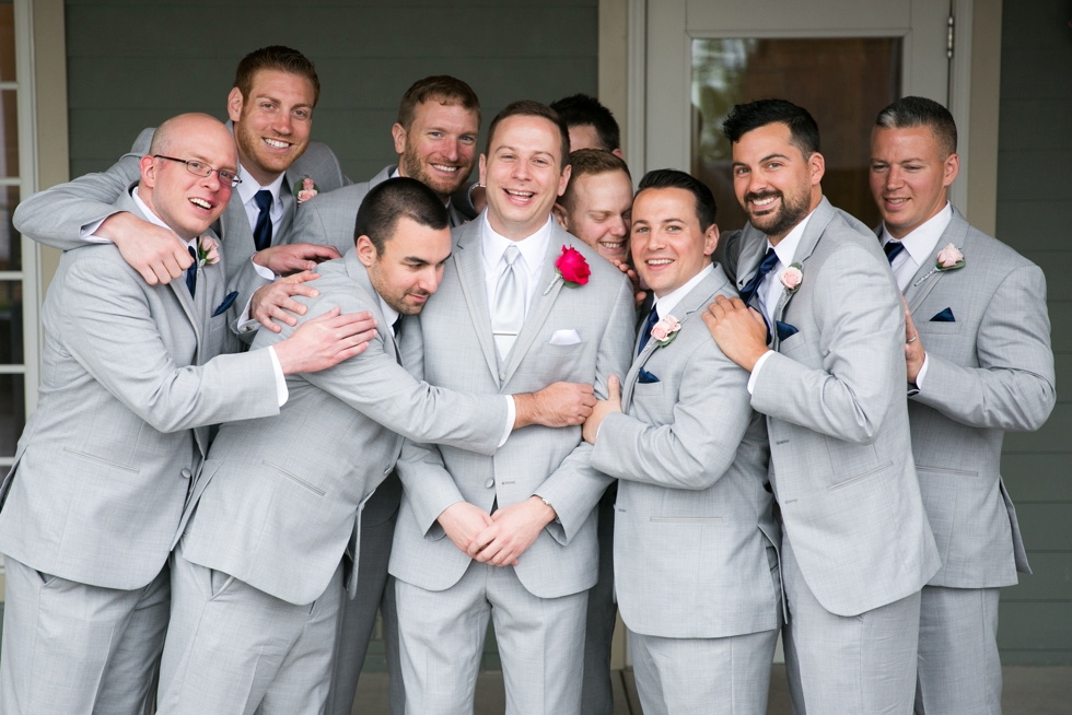 Groomsmen Beach wedding - Philadelphia wedding photographer