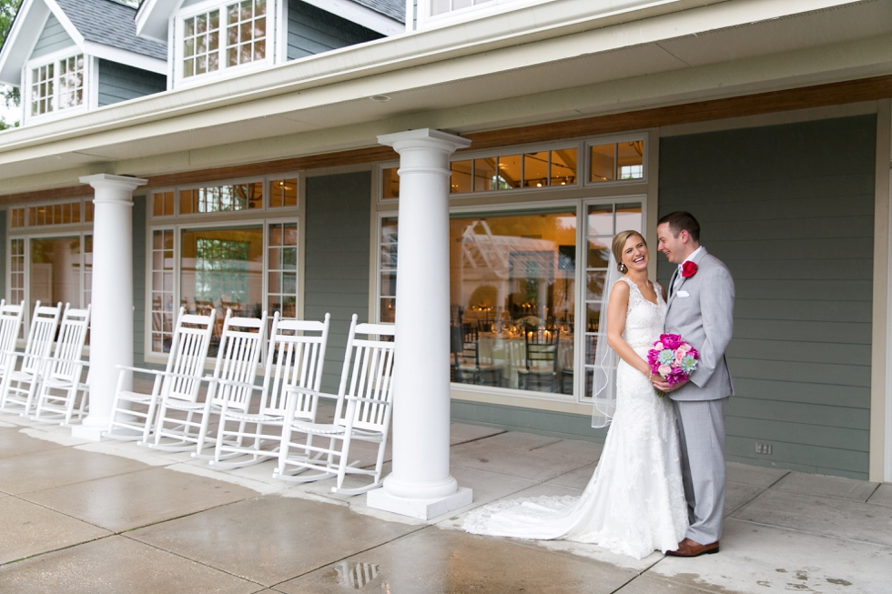 Philadelphia wedding photographer - Chesapeake Bay Beach Club rainy wedding photos