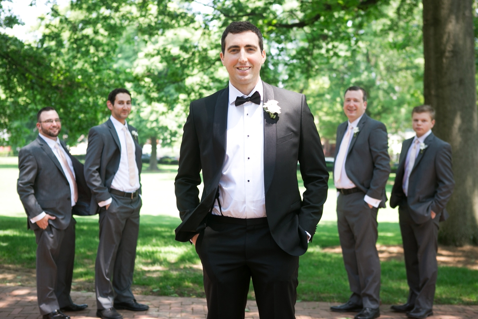 Annapolis MD St Johns College Groomsmen - Maria Jeff
