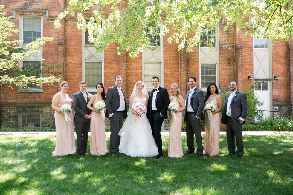 Annapolis MD St Johns College Wedding Party - Maria Jeff