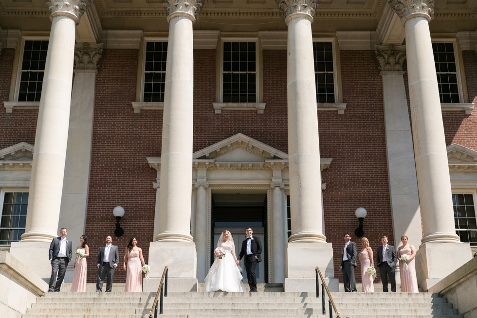 St Johns College Annapolis wedding photos - Center city wedding photographer