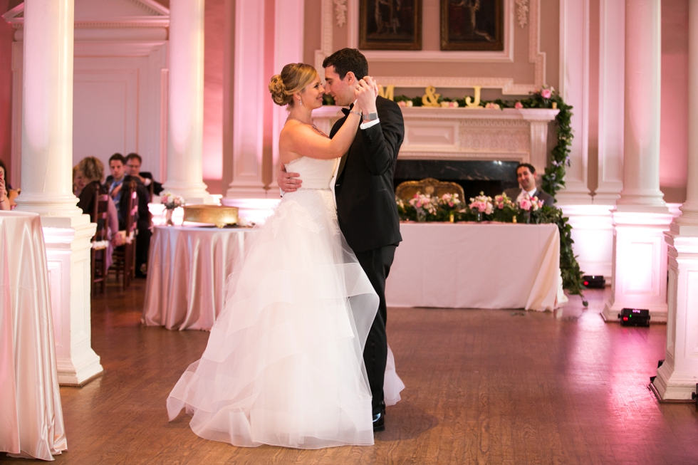St Johns College Randall Hall Wedding Reception Details - First Dance
